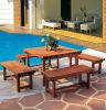 Tableau de jardin et chaise de jardin en bois (SC-L924)