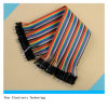 40 PCS 2.54mm Male au cable connecteur de Male