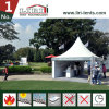 Rainproofパビリオンの玄関ひさしの白4X4mのおおいのテント展覧会のテントブースのパビリオン