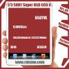 1/3 Super Sony had de Module RJ10+639 650TVL 0.0003Lux 38X32X10mm van de Raad CCD