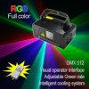 Scanner à distance d'éclairage d'étape de laser de DMX RVB