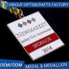 Medaglia su ordinazione del metallo del randello di sport del pezzo fuso di qualità eccellente