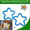 Moldes coloridos vendedores superiores del huevo del silicón de la dimensión de una variable de la estrella de la alta calidad