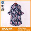 Form-beiläufiges Baumwolldrucken-Hemd kundenspezifisch anfertigen
