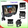 7  디지털 방식으로 LCD 쿼드 감시자를 가진 차 Rearview 체계