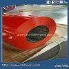 La couleur rouge de vente chaude de PPGI a enduit la feuille d'une première couche de peinture en acier galvanisée de bobine