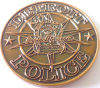 Pièce de monnaie de défi en métal avec le logo 3D (m-C05)