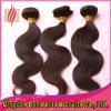 Weave brasileiro não processado do cabelo humano do Virgin