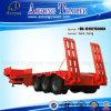 50t-80t 3 Semi Aanhangwagen van het Bed van de As de Lage voor Verkoop