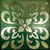 Antike silberne vereitelte Wand-Abbildung (LH-174000)
