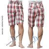 2014 pantaloni di Shorts del carico della spiaggia di svago del plaid degli uomini (PS1228)