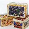 3D Embossed Metal Box для Fudge Soft Sweets Sugars