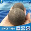 熱い販売の金山のための高い硬度の125mm造られた粉砕の鋼球