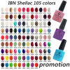 Qualité Environmental MSDS&SGS Approved Shellac Nail Gel Polish (105 couleurs)