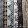 Tessuto domestico stampato 100% della pelle scamosciata del sofà dell'angolo della tessile del poliestere del cuoio