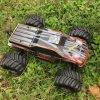 원격 제어 금속 포좌 무브러시 4WD 전기 RC 차 모형