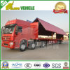 Flügel-geöffneter LKW-halb Schlussteil Steelbox Van Hydraulic Side