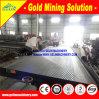沖積金のコンセントレイタ表、金の鉱石の濃縮物表、振動表