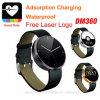 Het Slimme Horloge Mtk2502 Bluetooth van uitstekende kwaliteit met de Monitor van het Tarief van het Hart