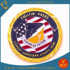 Kundenspezifisches Militär ficht Andenken-Preis-Goldmünze an