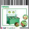 Стеллаж для выставки товаров фрукт и овощ металла бакалеи