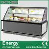 Refrigerador del refrigerador del escaparate de la visualización de la torta de la fábrica de China