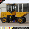 site chinois Dumper de 2ton Wheeled Hydraulic