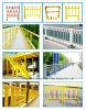 Handlauf der Korrosionsbeständigkeit-FRP Pultruded des Zaun-FRP, Sicherheitsschranke-Zaun