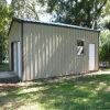 Edificio prefabricado de la estructura de acero para los pequeños kits del almacén