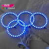 OEM 90mm 4PCS/Set 12V WiFi RGB LED Angel Eyes Kit