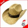 Chapéu de vaqueiro natural do chapéu de palha de 100%