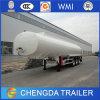 Cimc Tri-Árboles 42000 litros del acero inoxidable de acoplados del petrolero para la venta