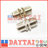 Material in lega di zinco F Female Connector con Nut