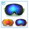Lunettes r3fléchissantes ultra-violettes de casque de ski de lunetterie de sports de lentille interchangeable