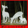 Indicatore luminoso bianco acrilico del fornitore di natale della renna della decorazione del LED