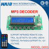 G003 placa de circuito MP3 com amplificador placa Bluetooth Player