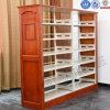 Bibliothèque d'acier de rayons de magasin de livre d'étagère de bibliothèque utilisée par école