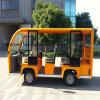 8개의 시트 전기 관광 버스 열려있는 바디