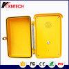 A emergência à prova de intempéries do telefone impermeável entrega o telefone livre Knsp-04