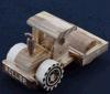 Bouteur en bois de jouets d'enfants