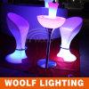 조명된 LED 가구 의자