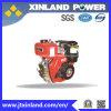 4-Stroke motor diesel refrescado aire horizontal L170fb para la maquinaria