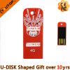 최신 플라스틱 최고 지능적인 선물 USB Pendrive (YT-3206)