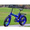 차가운 전기 리튬 뚱뚱한 타이어를 가진 접히는 눈 자전거