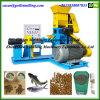 Máquina flotante del molino de la pelotilla del estirador de la alimentación de los pescados de los animales acuáticos