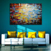 Pittura a olio con il blocco per grafici per la decorazione domestica