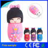 Neues Ankunfts-Karikatur-Kimono-Mädchen USB-grelle Platte