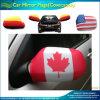Связанные Spandex носки зеркала автомобиля Канады листьев полиэфира красные (J-NF13F14023)