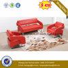 Sofá moderno del cuero de la sala de estar (HX-CS053)