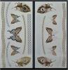 Tattoo искусствоа стикеров Tattoo бабочки золота способа временно